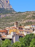 Monistrol de Montserrat, Spain Stock Photo