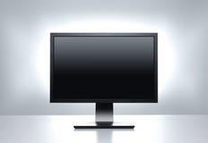 Moniteur d'ordinateur avec le chemin de découpage Photographie stock