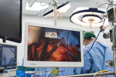 Moniteur médical Photo libre de droits