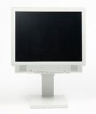 Moniteur plat de PC Photographie stock libre de droits