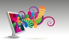 Monitor_03 Royalty Free Stock Photo