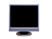 Monitor. Isolated LCD monitor on a white background Stock Photo