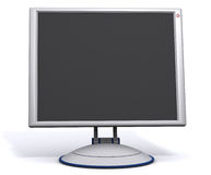 Monitor 2 do Lcd Imagens de Stock Royalty Free