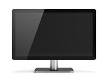 Monitor. Computer monitor. 3d image. White background Royalty Free Stock Image