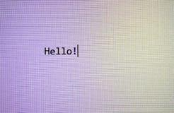 monitor Imagenes de archivo