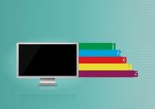 monitor Royalty-vrije Stock Fotografie