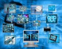 monitor Foto de Stock