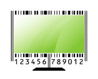 Monitor als streepjescode Royalty-vrije Stock Foto's