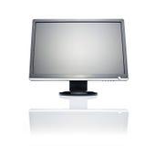 Monitor ancho del LCD Imagen de archivo