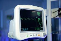 Monitor cardiaco Fotos de archivo libres de regalías