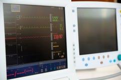 Monitor cardiaco fotografía de archivo libre de regalías
