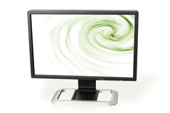 Monitor (clipping patch) Royalty Free Stock Images