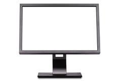 Monitor con pantalla grande Fotos de archivo libres de regalías