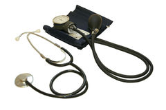 Monitor da pressão sanguínea Foto de Stock Royalty Free