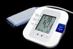 Monitor da pressão sanguínea de Digitas imagem de stock royalty free