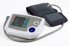 Monitor da pressão sanguínea Imagens de Stock Royalty Free