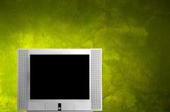 Monitor da tevê Imagem de Stock Royalty Free