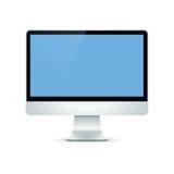 Monitor da tevê do Lcd Imagem de Stock Royalty Free
