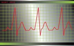 Monitor de corazón Fotos de archivo