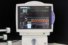 Monitor de ECG imagen de archivo