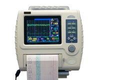 Monitor de ECG imagens de stock royalty free