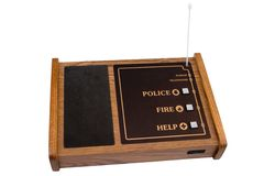 Monitor de la emergencia Fotos de archivo libres de regalías