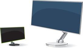 Monitor de la oficina Imagenes de archivo