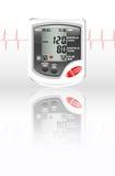 Monitor de la presión arterial stock de ilustración