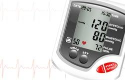 Monitor de la presión arterial libre illustration