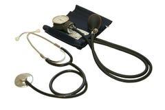 Monitor de la presión arterial Foto de archivo libre de regalías
