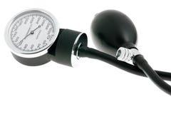Monitor de la presión arterial Imagen de archivo libre de regalías