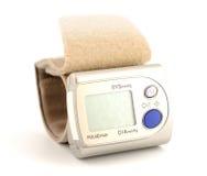 Monitor de la presión arterial de Digitaces Fotografía de archivo
