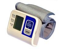 Monitor de la presión arterial de la muñeca foto de archivo