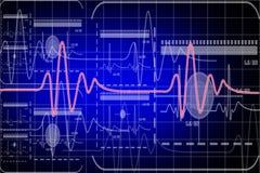 Monitor del battito cardiaco illustrazione vettoriale