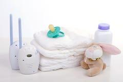 Monitor del bebé Foto de archivo libre de regalías