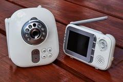 Monitor del bebé de Clouse-up Fotos de archivo libres de regalías