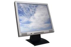 Monitor del Lcd foto de archivo libre de regalías