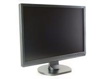 Monitor del LCD de la pantalla ancha Imagen de archivo libre de regalías