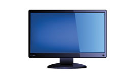 Monitor del LED TV Immagini Stock