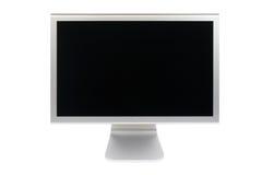 Monitor del ordenador del lcd de la pantalla plana Imágenes de archivo libres de regalías