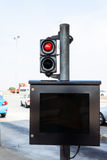 monitor della Tributo-tassa fotografie stock