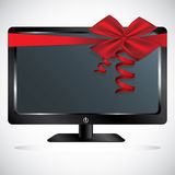 Monitor design Stock Image
