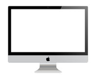 Monitor di Apple IMac Fotografia Stock