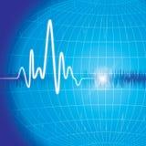 Monitor di cuore Fotografie Stock Libere da Diritti