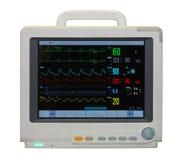 Monitor di ECG Fotografia Stock