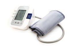 Monitor di pressione sanguigna Immagini Stock