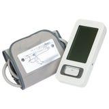 Monitor di pressione sanguigna di Digital Tonometer Fotografie Stock Libere da Diritti