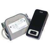 Monitor di pressione sanguigna di Digital Tonometer Fotografia Stock Libera da Diritti
