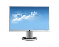 Monitor do computador Foto de Stock Royalty Free