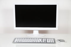 Monitor do computador Imagem de Stock Royalty Free